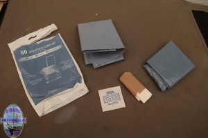 GO anywhere toilet kit review